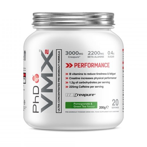 PHD VMX2 Raspberry Lemonade, 200 g
