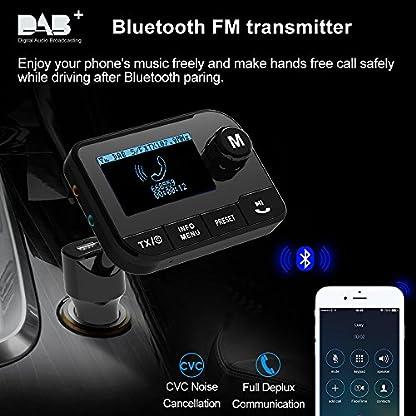 Im-Auto-DABDAB-Radio-Adapter-Uekars-23LCD-Portable-Flexibel-FM-zu-Digital-DAB-Audio-Adapter