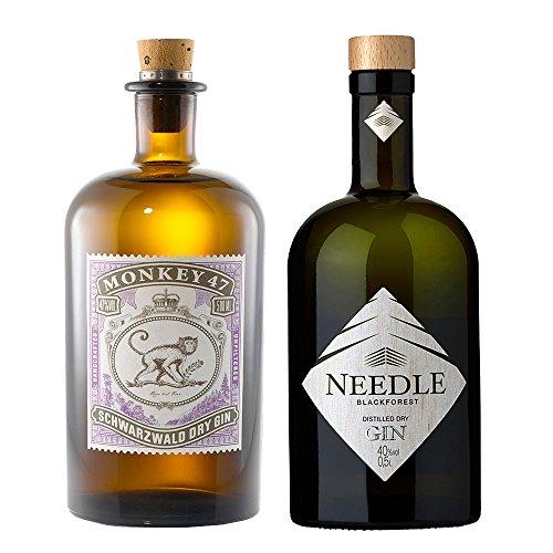 Monkey-47-Gin-05l-Needle-Gin-05l-Zwei-Gins-aus-dem-Schwarzwald