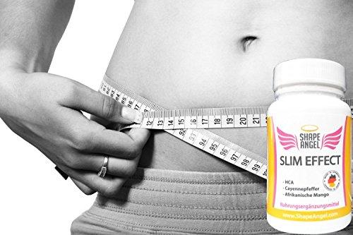 Slim Effect – Appetithemmer Und Fettverbrenner – Speziell Für Frauen – Appetit Control – Schnell Abnehmen – Appetitzügler Gegen Heißhunger Von Shape Angel