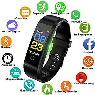 LIGE-Fitness-Trackers-Wasserdicht-Intelligentes-Armband-Farbdisplay-Outdoor-Sportarten-Watch-Pulsmesser-Schlafberwachung-Touchscreen-Schrittzhler-Mnner-Frau-Aktivitts-Tracker-for-AndroidiOS