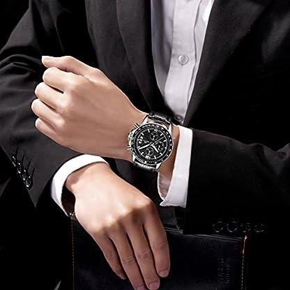 Herren-Uhren-Mnner-Sport-Wasserdicht-Chronograph-Datum-Kalender-Luxus-Armbanduhr-Mode-Kleid-Multifunktion-Stoppuhr-Analog-Quarz-Uhr-mit-Schwarz-Lederband