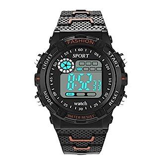 Godagoda-Herren-Armbanduhr-Digitale-Wasserdichte-Outdoor-Sports-Multi-Funktion-Elektronische-Lederarmbanduhr-als-Geschenk-fr-Mnner