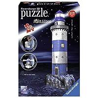 Leuchtturm-bei-Nacht-Erleben-Sie-Puzzeln-in-der-3-Dimension