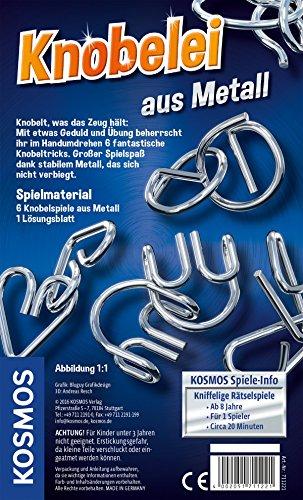 KOSMOS-Spiele-711221-Knobelei-aus-Metall