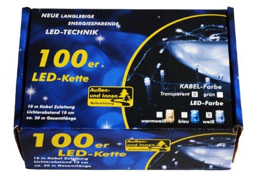 100er-LED-Lichterkette-warm-kalt-wei-blau-Farbwahl-Innen-Aussen-transparentes-Kabel-Trafo-19-Meter-Weihnachtsbeleuchtung-Weihnachtsdeko-Partydeko-Partylichter-Xmas