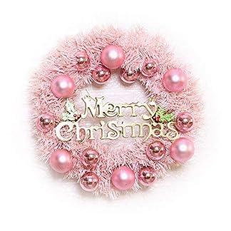 ZXPAG-Knstlicher-Kranz-Trkranz-Girlande-Weihnachten-Tukranz-We-PVC-fr-Deko-Weihnachten-Advent-Trkranz