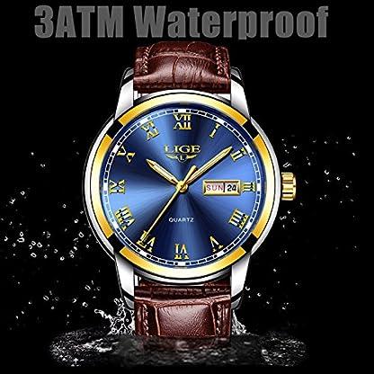 Herren-Uhren-mit-Leder-Band-Armbanduhr-Analog-Quarz-Herren-Datum-Kalender-Fashion-Casual-Business-Kleid-Armbanduhr-Herren-Wasserdicht-Sport-Uhr