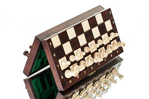 HERVORRAGENDE-Medium-magnetische-Schachspiel-Holz-28-x-28cm