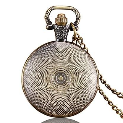 Herren-Taschenuhr-Vintage-Retro-Classic-Quarz-Taschenuhr-mit-Kette-beste-Geschenk-fr-Herren