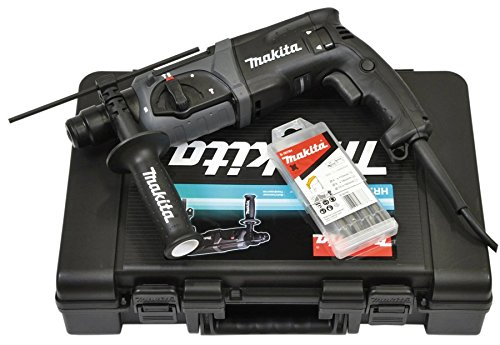 Makita-HR-2470-SDS-Plus-Bohrhammer-BohrerMeissel-Set