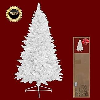 RS-Trade-HXT-1015-knstlicher-Weihnachtsbaum-Wei-120-240-cm-schwer-entflammbarer-Tannenbaum-mit-Schnellaufbau-Klappsystem-inkl-Christbaum-Stnder-aus-Metall