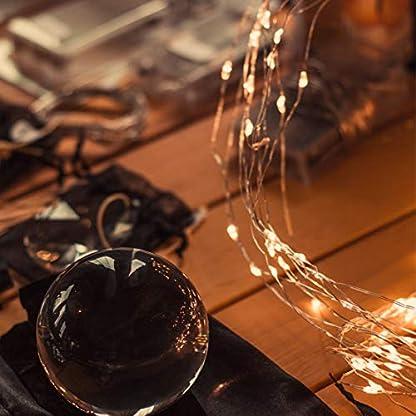 Koopower-40er-LED-Outdoor-Lichterkette-Batterienbetrieben-mit-Fernbedienung-und-Timer-Warmwei-8-Modi-120-Stunden-Betriebsdauer-IP65-Wasserdicht-Auenbeleuchtung