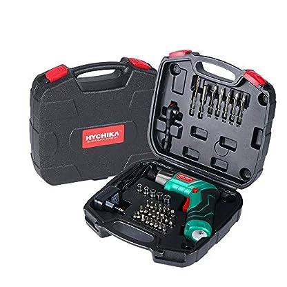 Akkuschrauber-6Nm-Max-Drehmoment-HYCHIKA-2000mAh-36V-Li-Ion-Akku-mit-36-Zubehrteils-LED-Licht-und-Taschenlampe-Ratschenschlssel-Ladeadapter-mit-USB-Kabel-und-Aufbewahrungsbox-fr-Schrauben