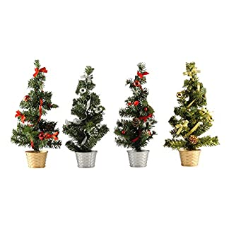 GYD-Geschmckter-Baum-Weihnachtsbaum-Weihnachts-Deko-Knstlicher-Weihnachtsbaum-Christmas-gifts-20cm-45cm-Inkl-Korbstnder