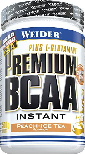 Weider Premium BCAA Powder, Peach-Ice Tea, 500 g