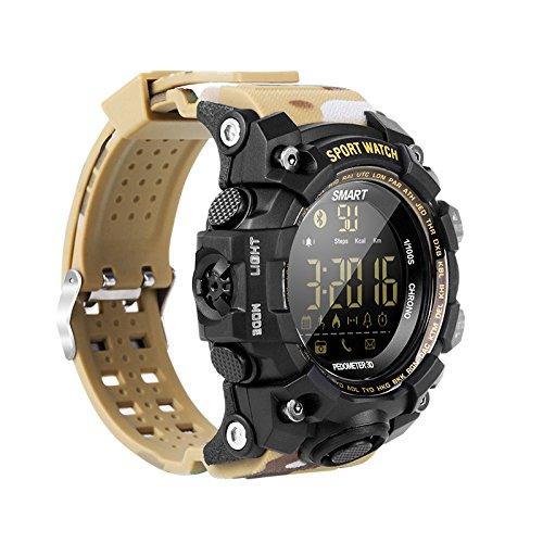 Chenang-EX16S-SmartwatchSchrittzhler-mit-PulsmesserFitness-Uhr-zur-Herzfrequenz-und-Fitnessaufzeichnung-Tracker-GPS-Laufuhr
