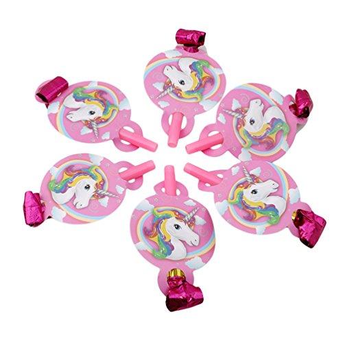 Albeey-6-Stck-Einhorn-Blowouts-Spielzeug