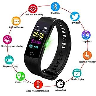 Fitness-Trackers-WISHDOIT-IP67-Wasserdicht-Farbdisplay-Intelligentes-Armband-Pulsmesser-Blutdruckberwachung-Kalorienzhler-Sport-Schrittzhler-Mnner-und-Frauen-Sport-Armband-fr-Android-iOS
