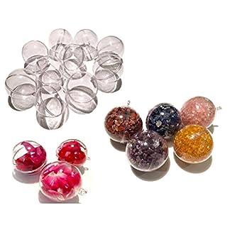 CRYSTAL-KING-10-Stck-Acrylkugeln-5cm-Durchmesser-durchsichtige-Kugel-aufhngen-transparent-Dekokugel-Bastel-Set-Christbaumkugeln-Acrylkugel-Weihnachtsbaum-Kugel-Teilbar-befllen-befllbare