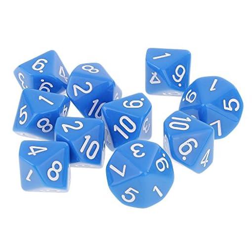 Homyl-10er-Set-Acryl-10-seitig-Wrfel-Spielwrfel-D10