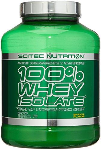Scitec Nutrition Whey Isolate Banane, 1er Pack (1 x 2000 g)
