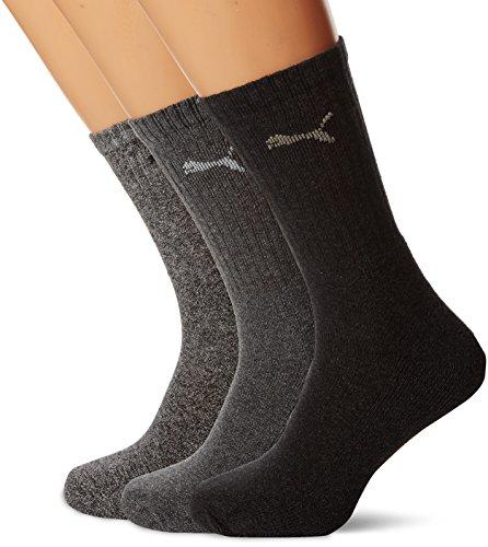 Puma – Unisex Sport Socken 3er Pack, 35-38, weiß