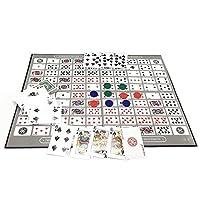 Hualieli-Sequence-Tin-Family-Version-Brettspiel-Sequence-Game-Family-Schachspiel-Englisch-Und-Arabisch-Spielzeug-Schachspiel