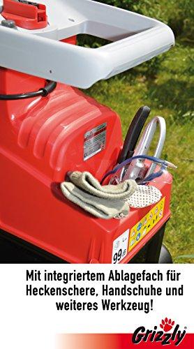 Grizzly-Leisehcksler-GHS-2842-B-Elektro-Walzenhcksler-Gartenhcksler-mit-transparenter-Auffangbox-extra-leise-kraftvoller-2800-Watt-Motor-Selbsteinzug-berlastschutz-Geruscharm
