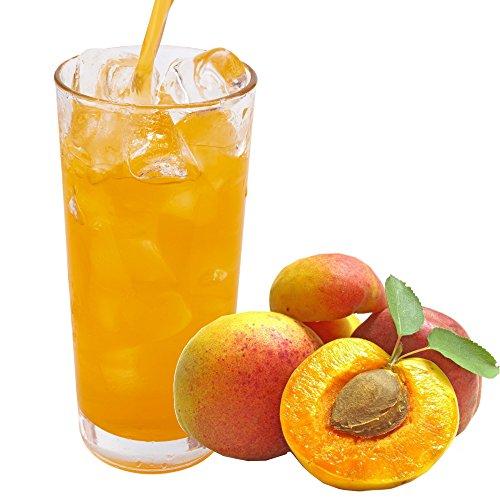 Pfirsich Geschmack extrem ergiebiges Getränkepulver für Isotonisches Sportgetränk Energy-Drink ISO-Drink Elektrolytgetränk Wellnessdrink