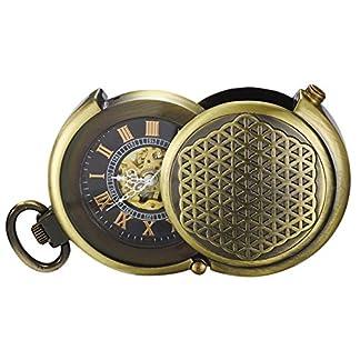 TREEWETO-Retro-Bronze-Mechanische-Taschenuhr-Pull-Sonderform-Hohl-Fall-Design-Skelett-Rmische-Ziffern-Taschenuhren-mit-kette-und-Geschenkbox
