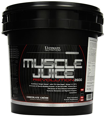 Ultimate Nutrition Muscle Juice Revolution 2600 Chocolate Creme, 1er Pack (1 x 5,04 kg)