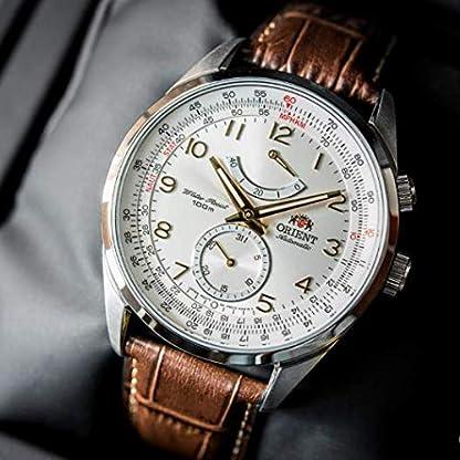 Orient-Herren-Analog-Automatik-Uhr-mit-Leder-Armband-FFM03005W0
