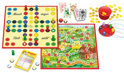 Schmidt-Spiele-49180-Kinderspiele-Klassiker-Spielesammlung