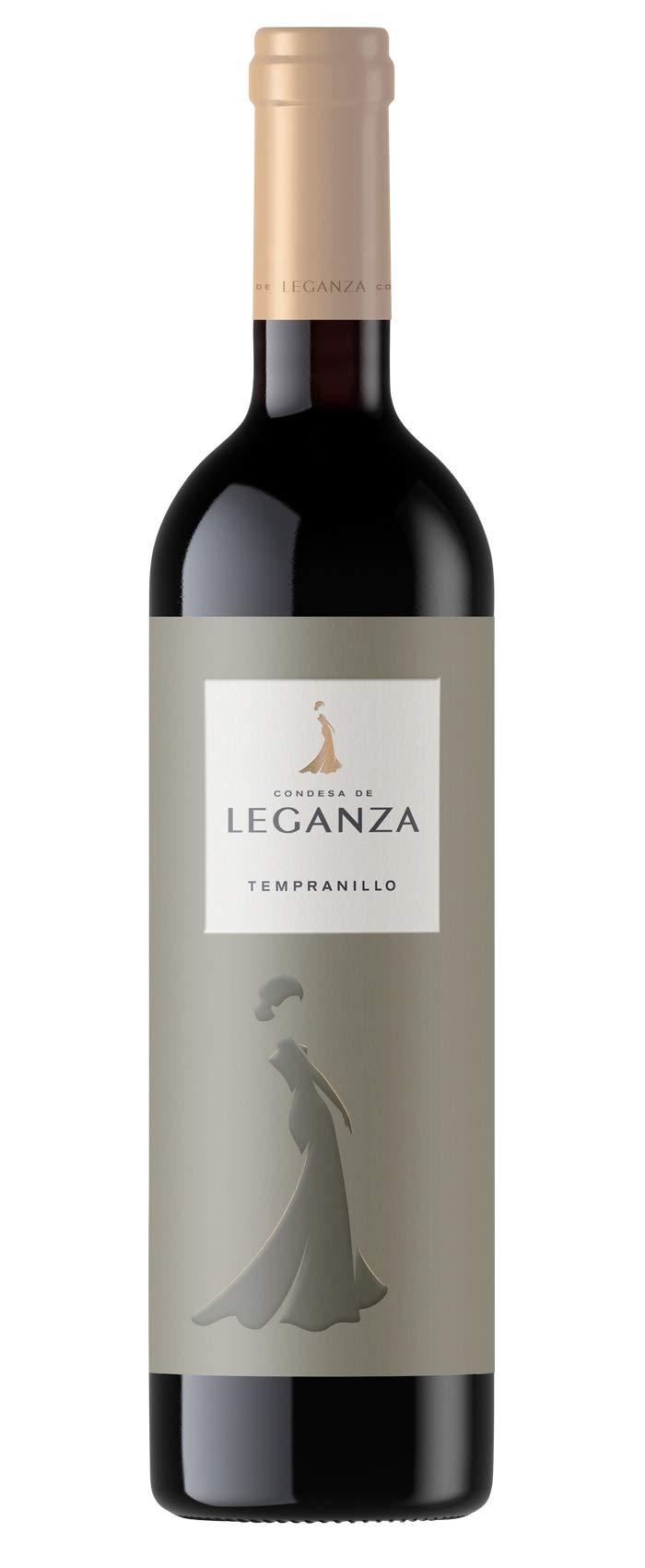 6x-075l-2016er-Condesa-de-Leganza-Tempranillo-Vino-de-la-Tierra-de-Castilla-Spanien-Rotwein-trocken