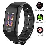 Fitness-Tracker-Farbbildschirm-Activity-Tracker-Uhr-mit-Blutdruck-Sauerstoffsttigungsmessung-IP67-Wasserdicht-Smart-Armband-mit-Herzfrequenz-Schlaf-Monitor-Kalorienzhler-Schrittzhler