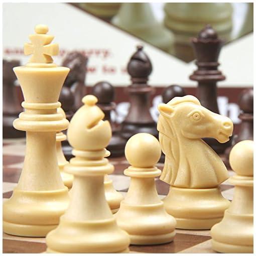CRMICL-2-In-1-Schachspiel-Schach-Schachkassette-mit-Deluxe-Magnetischem-Faltbarem-Schachbrett-Holzmaserung-Schachspiel-Schachbuch-fr-Kinder-Kinder-Reisen-31312-CM