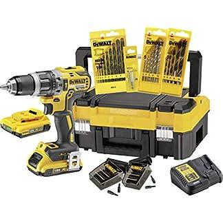 DeWalt-XR-Akku-Schlagbohrschrauber-Set-DCK796D2T-Schlagbohrmaschine-mit-2-Gang-Vollmetallgetriebe-brstenlosem-Motor-zum-Schrauben-Bohren-Schlagbohren-1-x-Schlagbohrer-Li-Ion-18-V-Zubehr