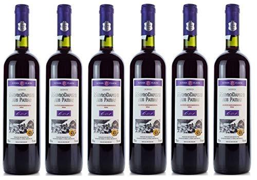 6x-Mavrodaphne-Rot-Imperial-Mavrodafne-aus-Patras-Griechenland-a-750-ml-15-Vol-Dessertwein-roter-Likrwein-griechischer-Rotwein-S-Wein-Likr-2-Probier-Sachets-Olivenl-aus-Kreta-a-10-ml