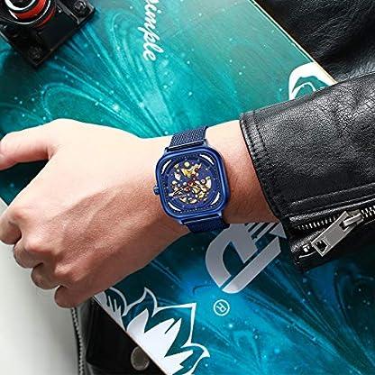 Herren-Automatikuhr-Mnner-Mechanische-Automatik-Wasserdicht-Skelett-Designer-Quadratisch-Blau-Edelstahl-Mesh-Armbanduhr-Mann-Business-Kleid-Leuchtende-Analog-Uhren