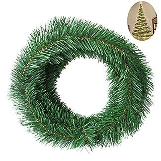 FunPa-Weihnachtsgirlande-18ft-Weihnachts-Dekorationen-Knstliche-Girlande-Weiche-Grngirlande-fr-Heiligabend-Hochzeit-Geburtstag-Eingang-Veranda-Treppe-Hngende-Dekorationen-Party-Supplies