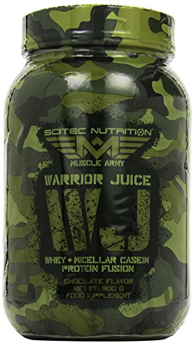 Scitec Nutrition Muscle Army Warrior Juice Schokolade, 1er Pack (1 x 900 g)