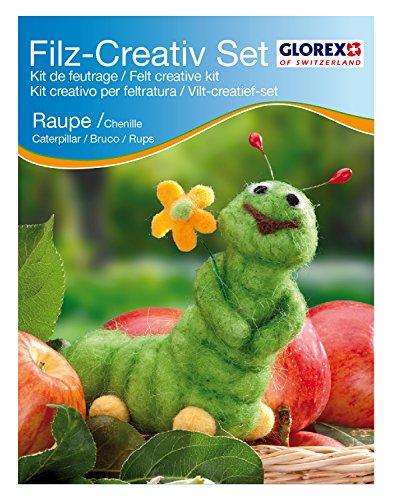 Glorex GmbH 6 2905 914 – Filz-Creativ-Set Raupe