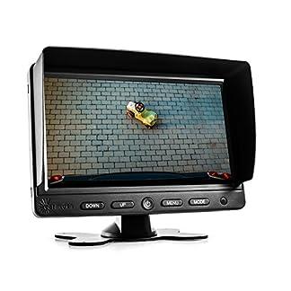 Carmedien-7-Zoll-TFT-LCD-Monitor-CM-NMR7-Bildschirm-fr-Rckfahrkamera-Kamera-System-12V-24V-7-Display-Standmonitor-schwarz-1744