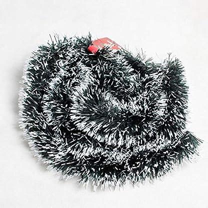 2-Stck-Weihnachtsgirlande-Weihnachten-Lametta-weihnachtsbaum-Girlande-Sternengirlande-Metallisch-Lametta-GirlandeWeihnachtsgrn-Christbaumschmuck-Hngende-Deko-fr-Weihnachtsbaum-Kranz-Hochzeit