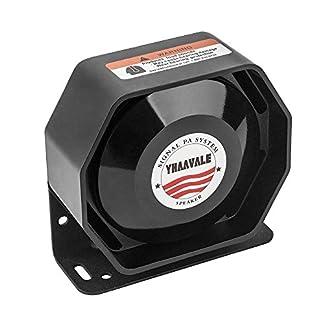 YHAAVALE-100-W-Ultra-Slim-Lautsprecher-Auto-Polizei-Sirene-Metall-Ultra-Slime-Octagon-Compact-Flat-Lautsprecher-DC-12-V-100-W-kompatibel-mit-jeder-100-Watt-Polizei-Sirene