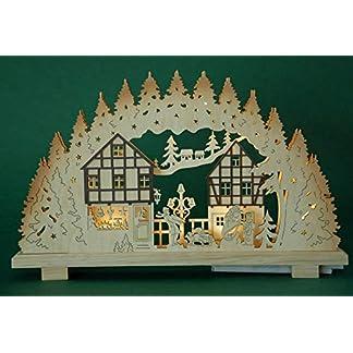 yanka-style-LED-Schwibbogen-Lichterbogen-Leuchter-Weihnachtshaus-mit-Fachwerkhusern-innenbeleuchtet-Weihnachten-Advent-Geschenk-Dekoration-107891