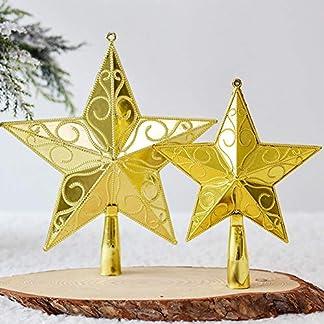 Bloomma-Christbaumspitze-Weihnachtsstern-Glitzer-Weihnachtsbaumstern-Baumstern-Weihnachtsbaumspitze-Baumspitz-Stern-Topper-Weihnachten-Deko