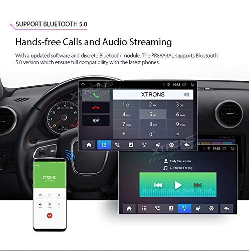 XTRONS-8-Android-Autoradio-mit-Touchscreen-Multimedia-Player-mit-Android-81-Octa-Core-Multimedia-Player-unterstzt-TPMS-WiFi-4G-Bluetooth50-2GB-RAM-32GB-ROM-DAB-OBD2-FR-Audi-A3S3RS3