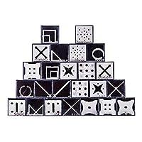 MAJOZ-24er-Set-Gleichgewicht-Labyrinth-Knobelspiele-Puzzle-Geschenke-fr-Kinder-Teenager-Erwachsene-Geschenk